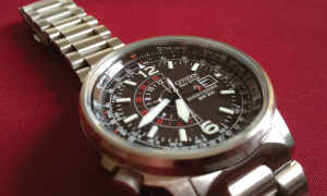 Citizen Men's BJ7000-52E Nighthawk Stainless Steel Eco-Drive Watch   Buy it for life (BIFL)