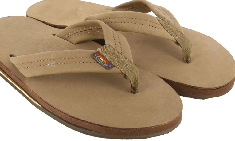 Rainbow Sandals Men's Double Layer Leather Sandal | BIFL