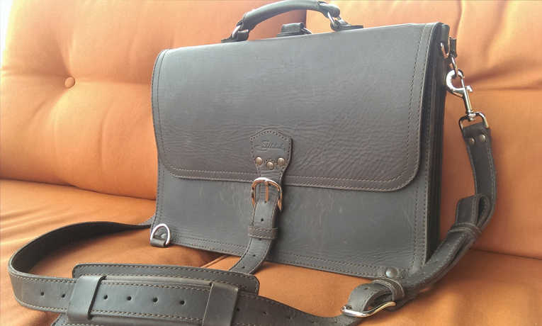 Saddleback Leather Company Thin Briefcase   Buy it for life (BIFL)