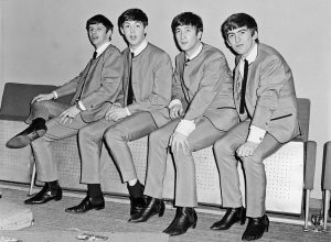 The Beatles made the Chelsea boots popular in the 1960's