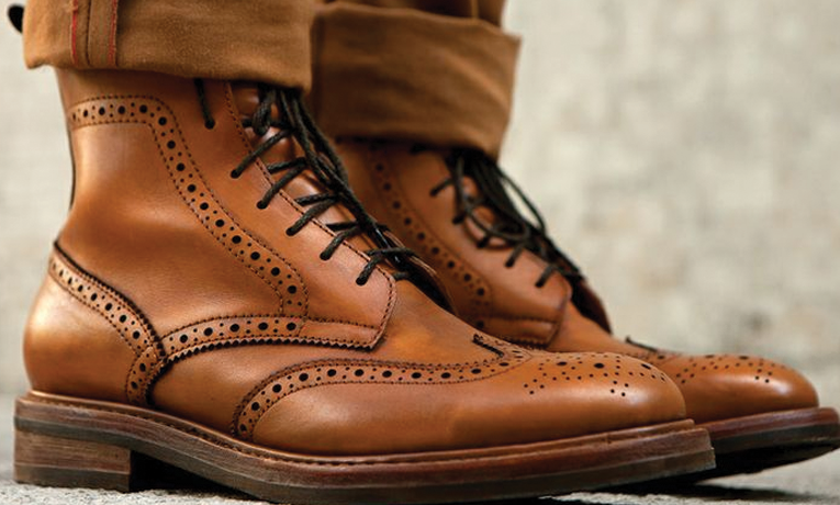 Brogue boot | Types of men's boots