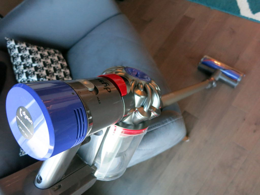 Dyson V8 with main motor head attached