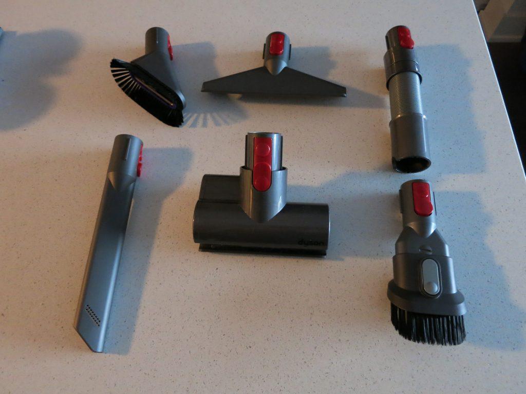 Dyson V8 attachments