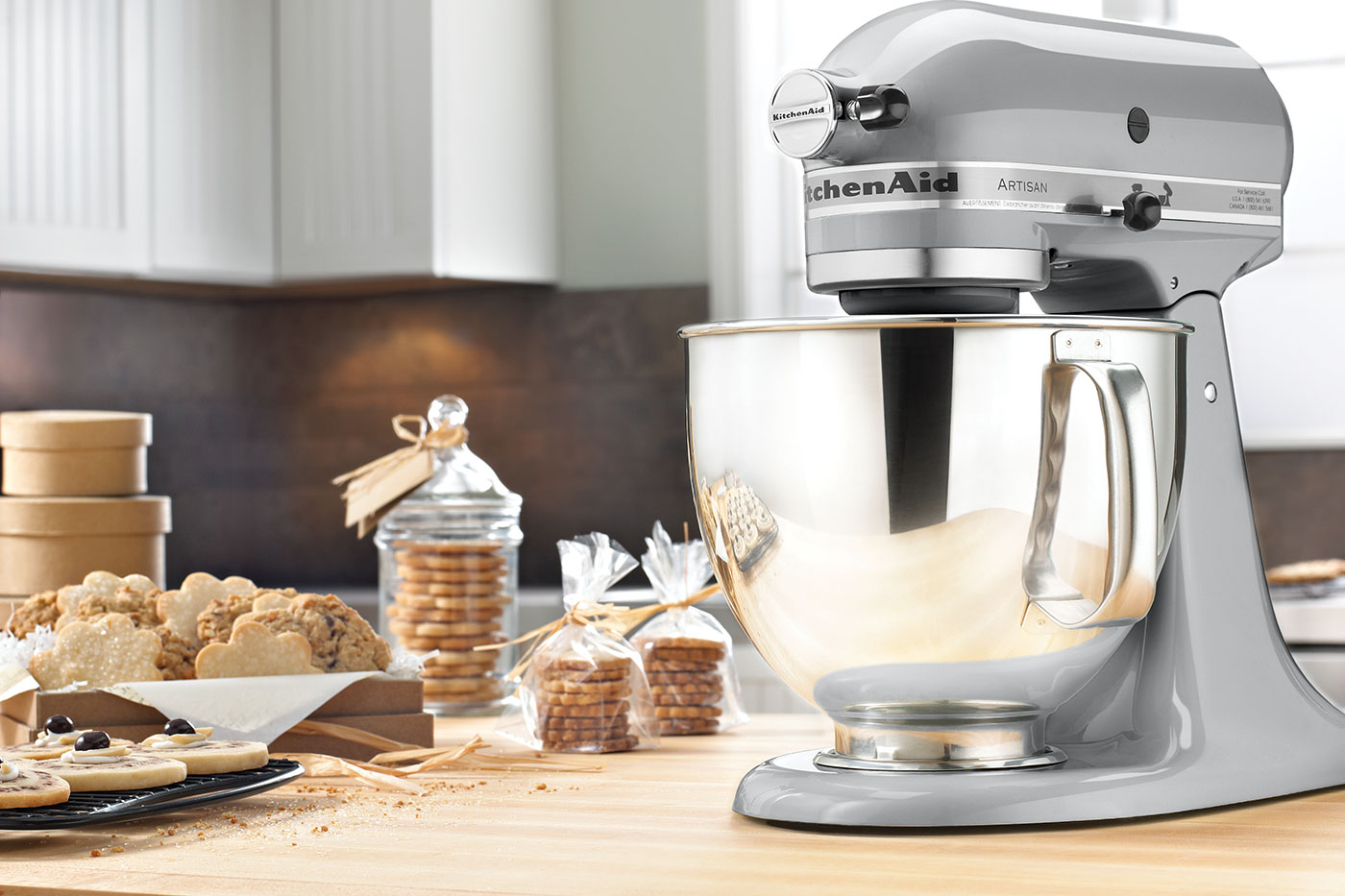 Kitchenaid Artisan stand mixer BIFL