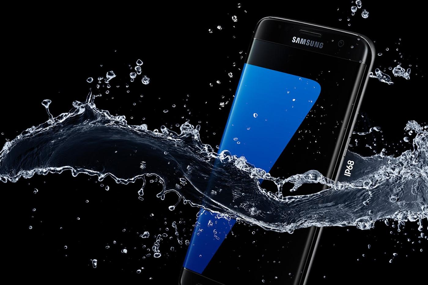 Samsung Galaxy S7 Edge BIFL water resistance
