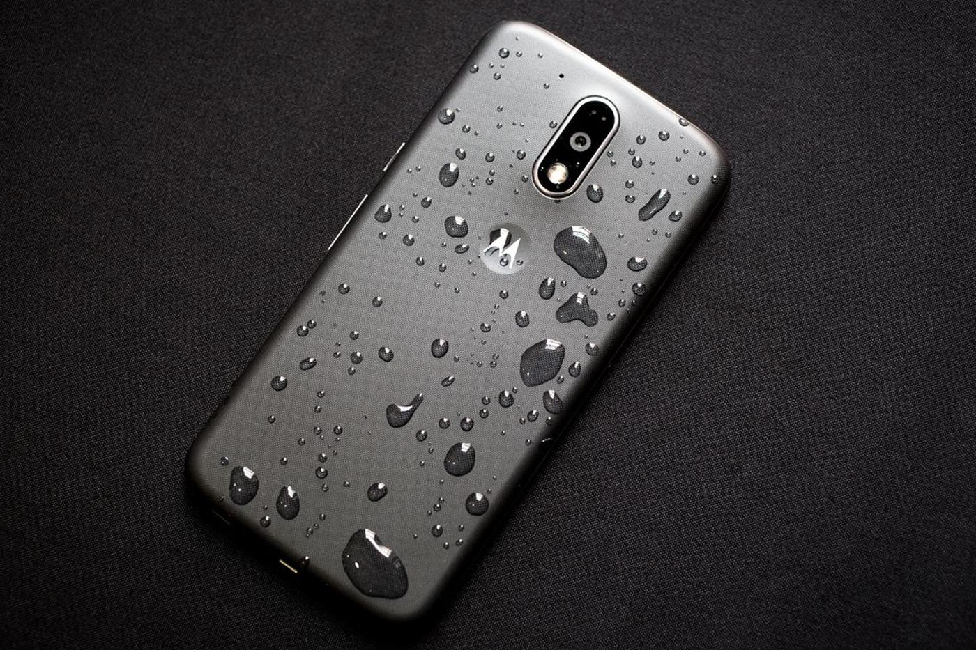 Moto G waterproof