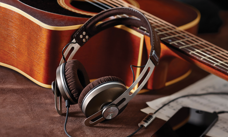 Sennheiser Momentum studio over the ear headphones