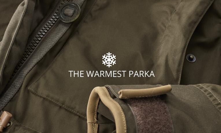 The warmest winter parka: Fjallraven Expedition Down Parka No. 1 Jacket