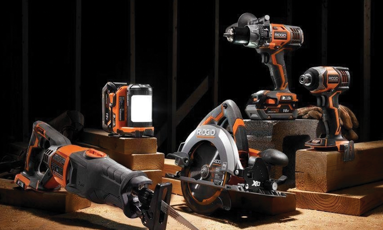 The absolute best power tool set | Rigid 18V 5 piece