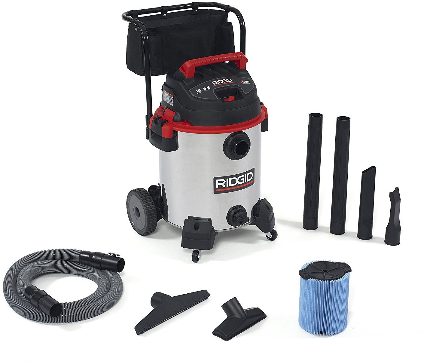 The most durable wet dry shop vacuum Ridgid 50353RID stainless steel