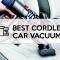 Best cordless car vacuum   Dyson V8 Absolute