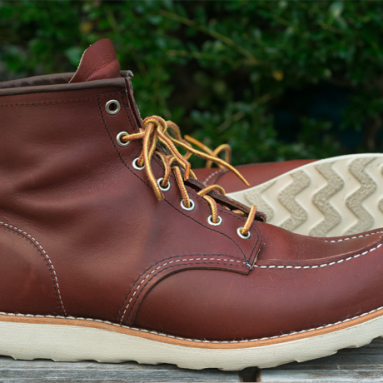 Red Wing Heritage Moc 6″ Boot | Buy it for life BIFL