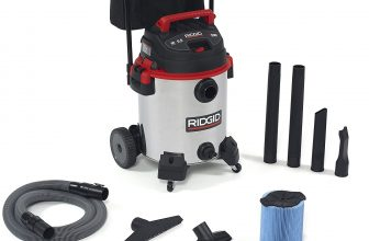 The most durable wet/dry shop vacuum: Ridgid 50353RID stainless steel