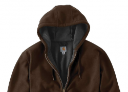 Carhartt Rain Defender Rutland Hooded Zip-Front Sweatshirt