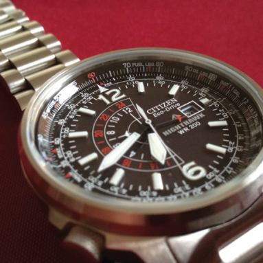 Citizen BJ7000-52E Nighthawk Eco-Drive watch