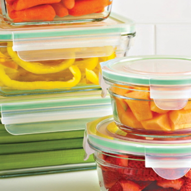 Glasslock food-storage containers