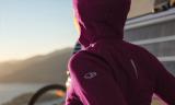 The best travel hoodie:  Icebreaker Quantum Merino Wool Hoodie