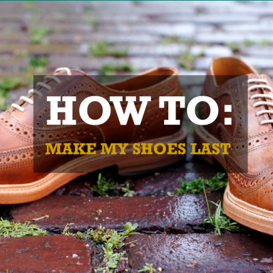 5 ways to make shoes last longer