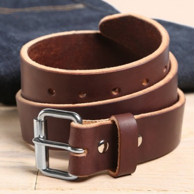 Orion leather belt