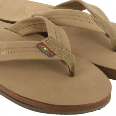Rainbow Sandals Men's Double Layer Leather Sandal