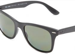 Ray-Ban Wayfarer Liteforce Polarized Square Sunglasses