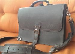 Saddleback Leather Company Thin Briefcase