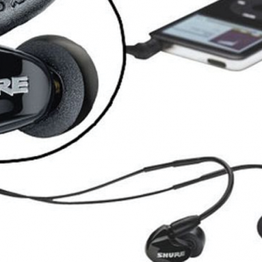 Shure SE315 sound isolating earphones (earbuds)